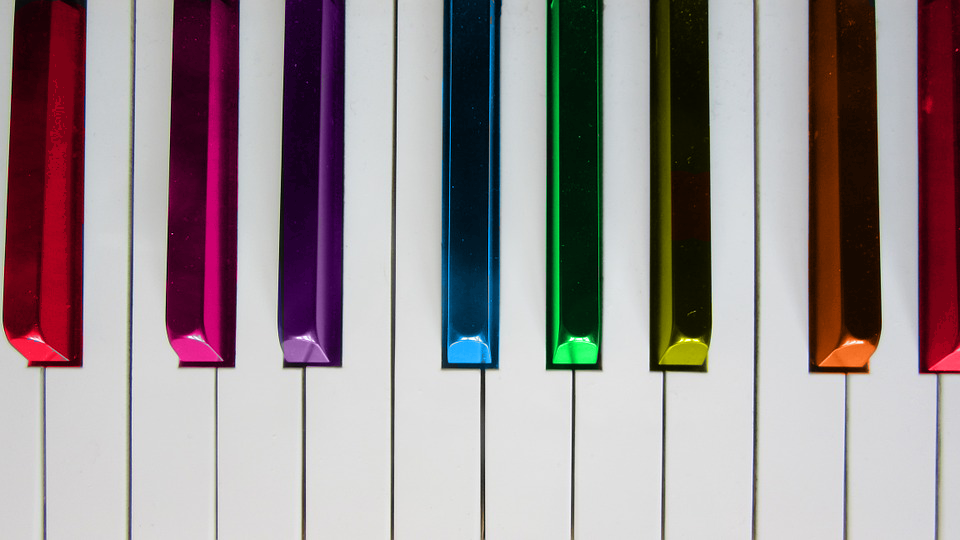 Piano's coloring world